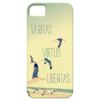 Océano latino de las gaviotas del caso del iPhone Funda Para iPhone SE/5/5s