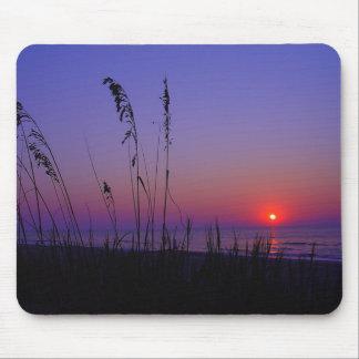 Océano Mousepad de la salida del sol de Myrtle