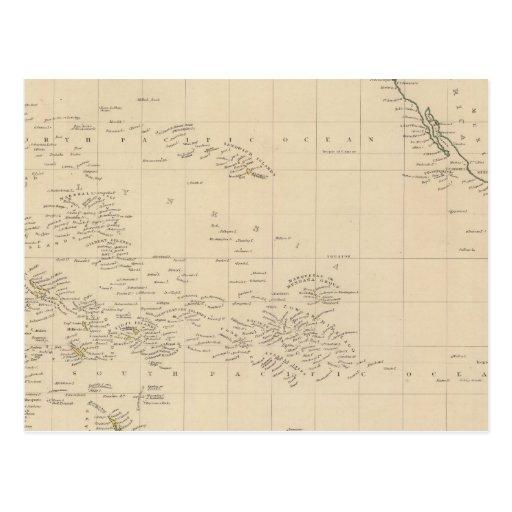 Océano Pacífico 3 Tarjeta Postal