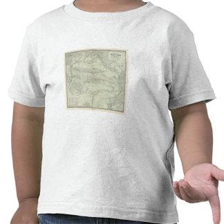Océano Pacífico 4 Camisetas