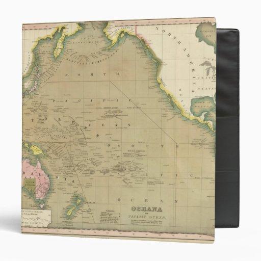 "Océano Pacífico 5 Carpeta 1 1/2"""