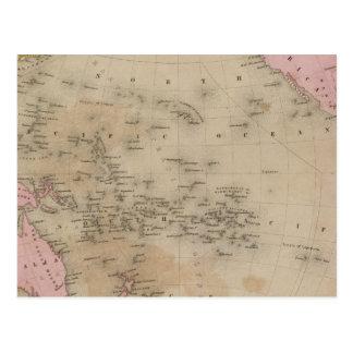 Océano Pacífico 6 Postales