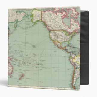 "Océano Pacífico 8 Carpeta 1 1/2"""