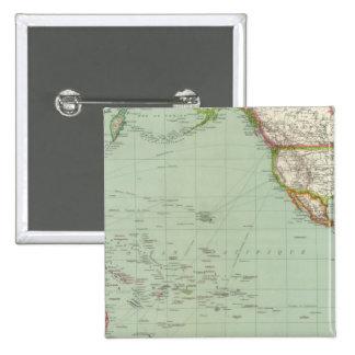 Océano Pacífico 8 Pin Cuadrado