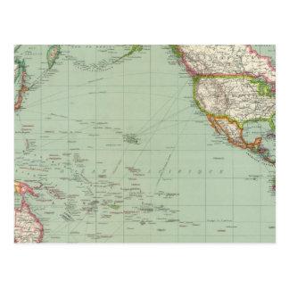 Océano Pacífico 8 Postales