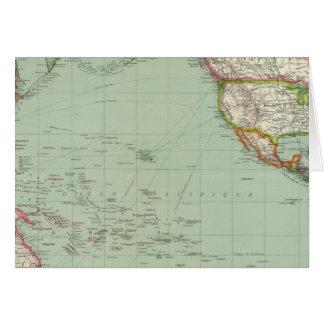 Océano Pacífico 8 Tarjeta De Felicitación