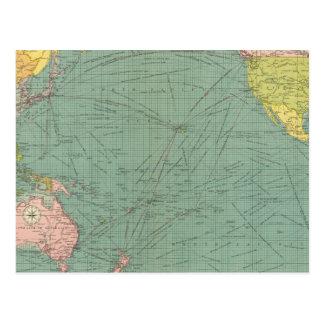Océano Pacífico 9 Postal