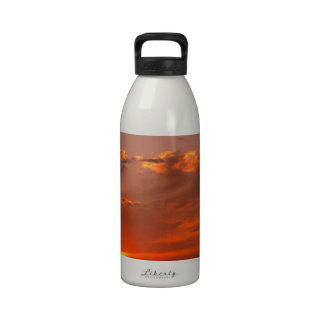 Océano Pacífico California de Bloodorange de la pu Botella De Agua