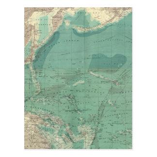 Océano Pacífico compuesto Postales