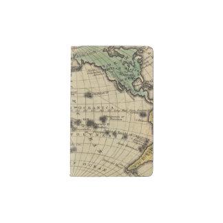 Océano Pacífico, islas británicas Funda Para Libreta Y Libreta Pequeña Moleskine