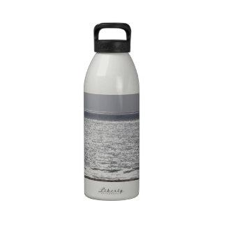 Océano Pacífico, Santa Cruz_.jpg Botella De Agua Reutilizable