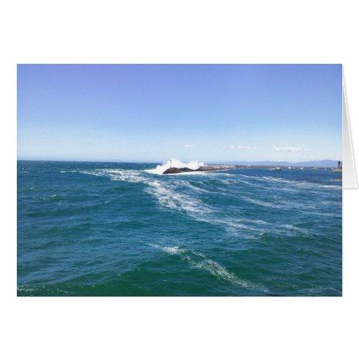 Océano Pacífico Tarjeta De Felicitación