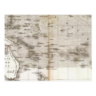 Océano Pacifique de los respiraderos Postal