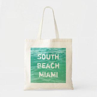 Océano, playa del sur Miami