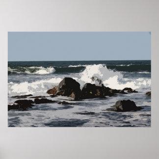 Océano Póster