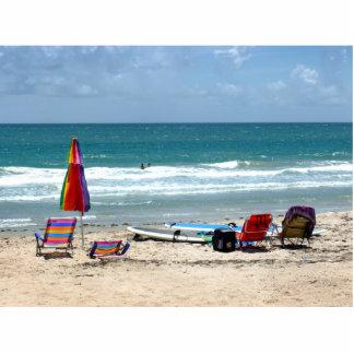 océano SM de la arena de los paraguas de las tabla Esculturas Fotograficas