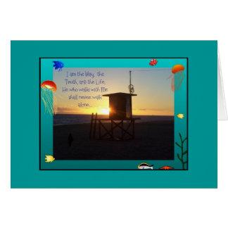 Océano/tarjeta de la manera