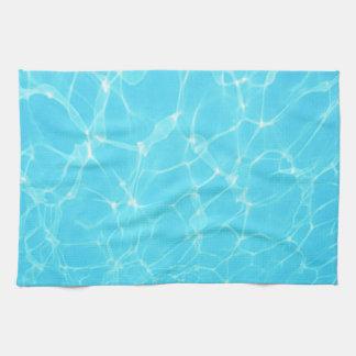 Océano tropical toalla de mano