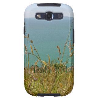 Océano Vista - salmo 104 Samsung Galaxy S3 Cárcasas