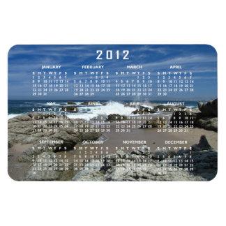 Océano vivo; Calendario 2012 Imán De Vinilo