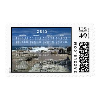 Océano vivo; Calendario 2012 Sello