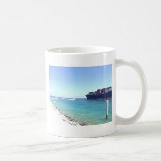 océano y nave del sur de Miami la Florida de la Taza De Café