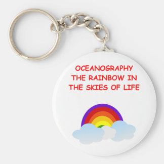 oceanografía llaveros