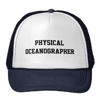Oceanógrafo físico gorros