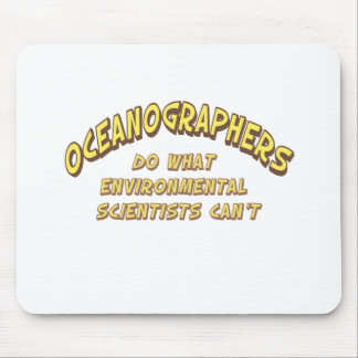 Oceanographers Mouse Pad