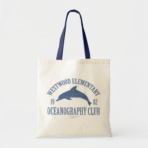 Oceanography Club Canvas Bags