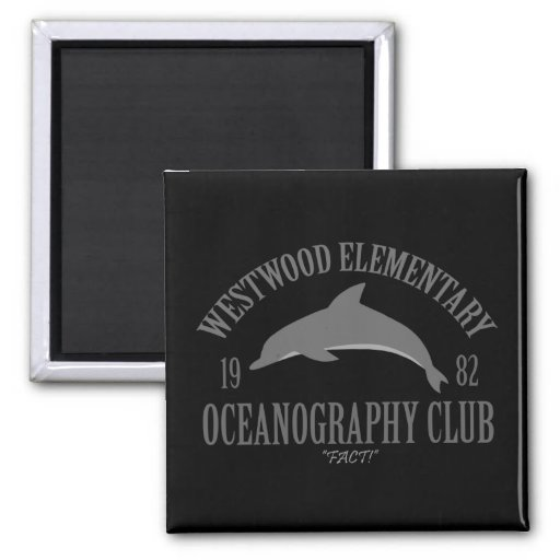 Oceanography Club Magnets