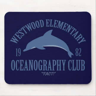 Oceanography Club Mouse Pad