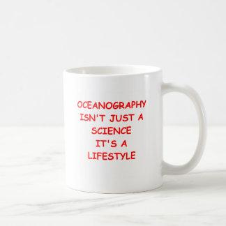 oceanography coffee mug