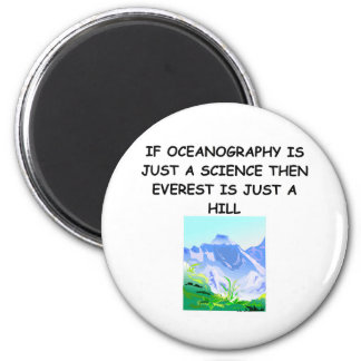 OCEANOGRAPHY gifts t-shirts Magnet