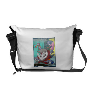 Oceanography/Global Warming Cartoon Messenger Bag