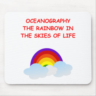 oceanography mouse pad