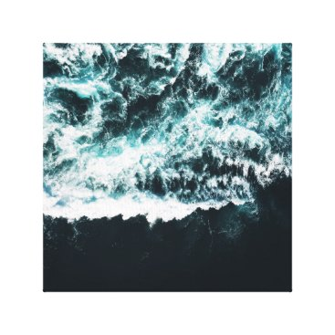 Ocean Themed Oceanoholic Wrapped Canvas