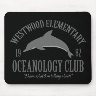 Oceanology Club Mouse Pad