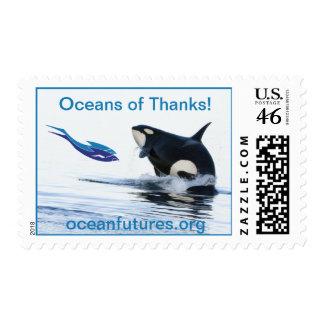 Océanos de los sellos de las gracias