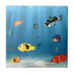 Océanos de pescados azulejos