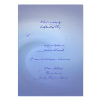 Océanos del boda del amor tarjetas personales