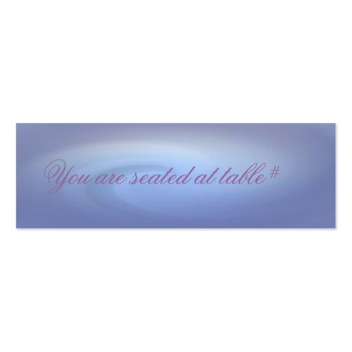 Océanos del boda del amor tarjetas de visita mini