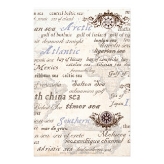 oceans by tony fernandes stationery