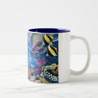 OCEANS COFFE Two-Tone COFFEE MUG