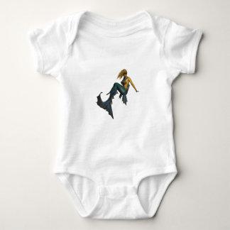 Oceans Fantasy Baby Bodysuit