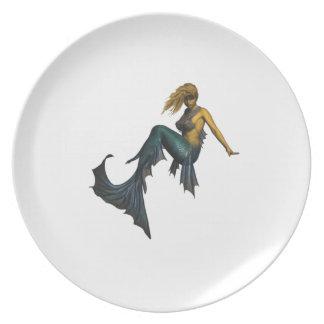 Oceans Fantasy Plate