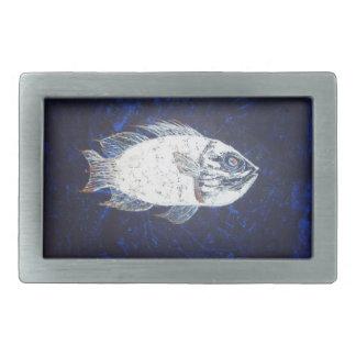 Oceans  Fish Belt Buckle