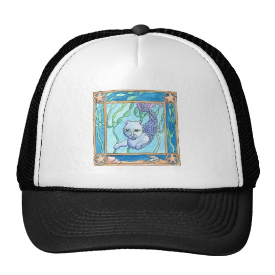 Oceans Forest Trucker Hat