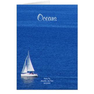 Oceans Greeting Card
