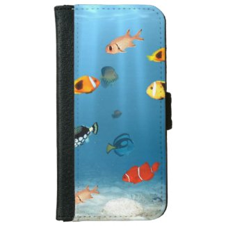 Fish In The Ocean Phone Wallets